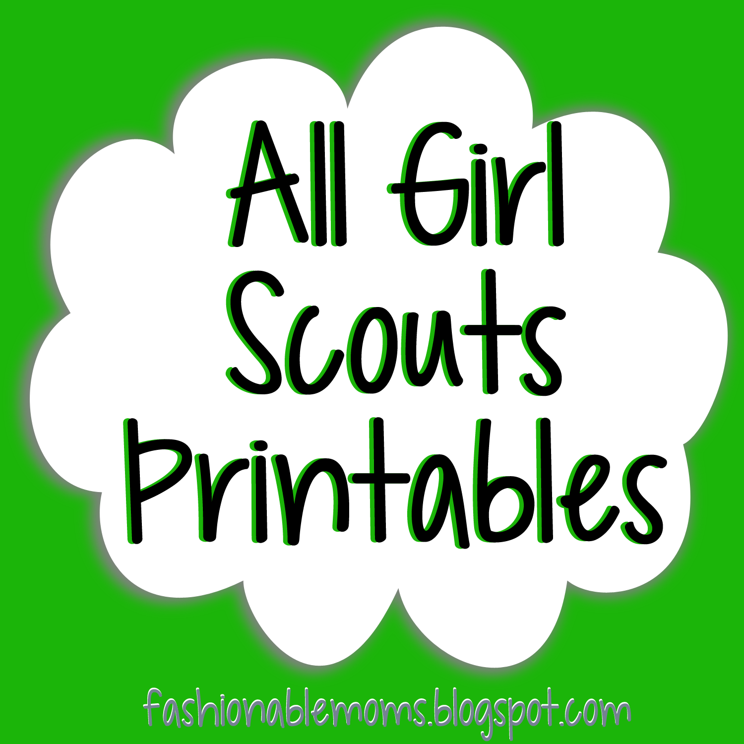Girl Scouts Printables Cute By Level Cookie Booth Thank You
