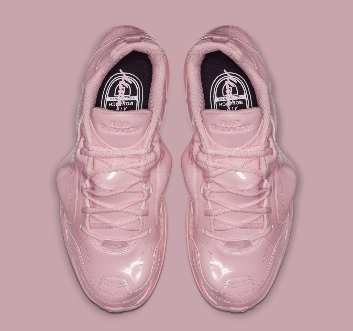 655b94758972 Martine Rose x Nike Air Monarch 4  Medium Soft Pink