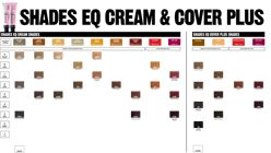 Shades Eq Cream And Cover Plus Shade Chart Hair Color Formulas Redken Color Hair Color Chart
