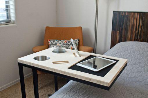 Mesa Auxiliar Caddy Para La Cama O El Sofa Ideas Para La Casa