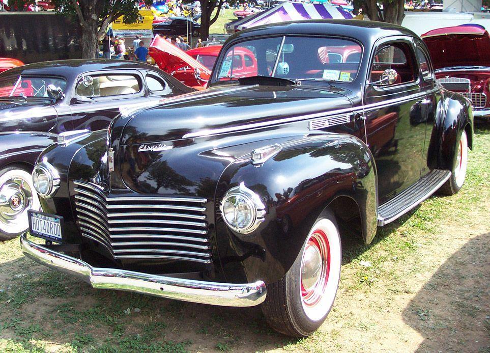 1940 Chrysler New Yorker Coupe Chrysler new yorker