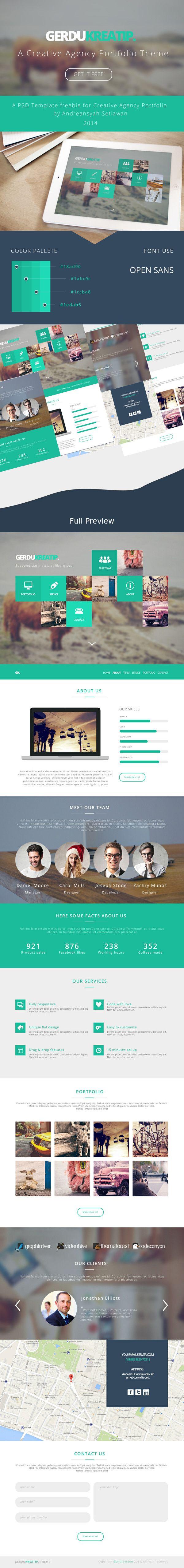GerduKreatip: Agency Portfolio Theme | Branding, Editorial y ...