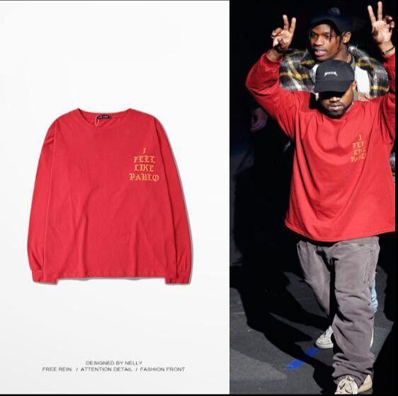 Long Sleeve Kanye West I Feel Like Pablo Three Season