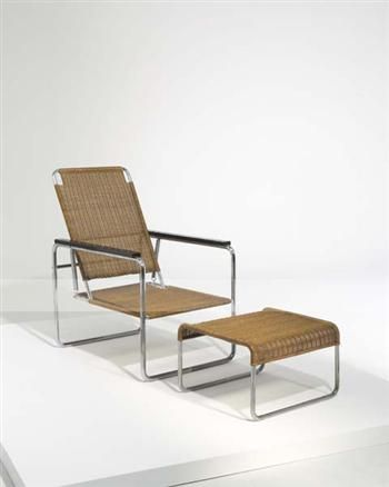 marcel breuer b25 chaise longue 1928 bauhaus oeuvres pinterest marcel breuer marcel and. Black Bedroom Furniture Sets. Home Design Ideas