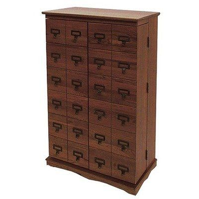leslie dame librarian s mission style multimedia cabinet in walnut rh pinterest com