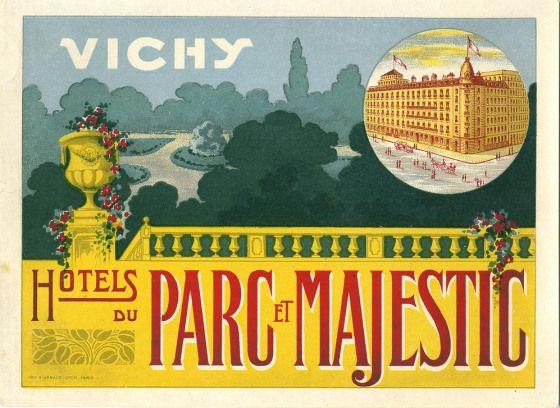 Hotels du Parc et Majestic, Vichy , France