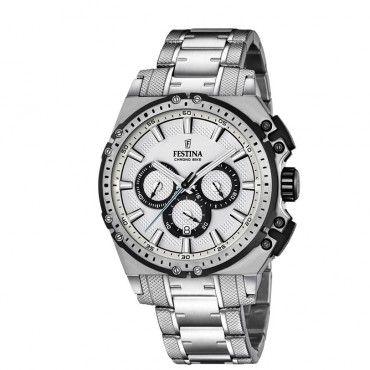 580bf977527ca FESTINA chronograph date F16968 1 Ανδρικός sport quartz χρονογράφος FESTINA  με γκρι καντράν