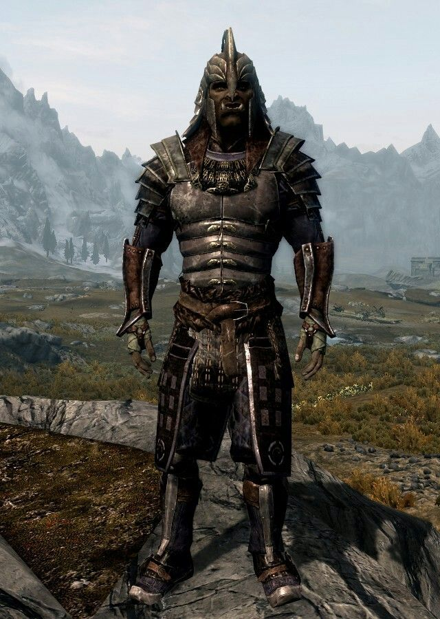 Orichalc Ronin By Tim Faroe Blades Armor And Boots Ancient Nord