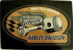 H-D Flying Pistons   Harley-Davidson Tin Signs   8000 Tin Signs for sale with Same Day Shipping   Tin Sign Factory