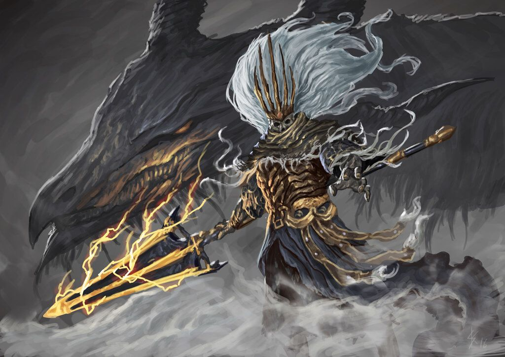 Nameless King Dark Souls 3 Dark Souls Artwork Dark Souls