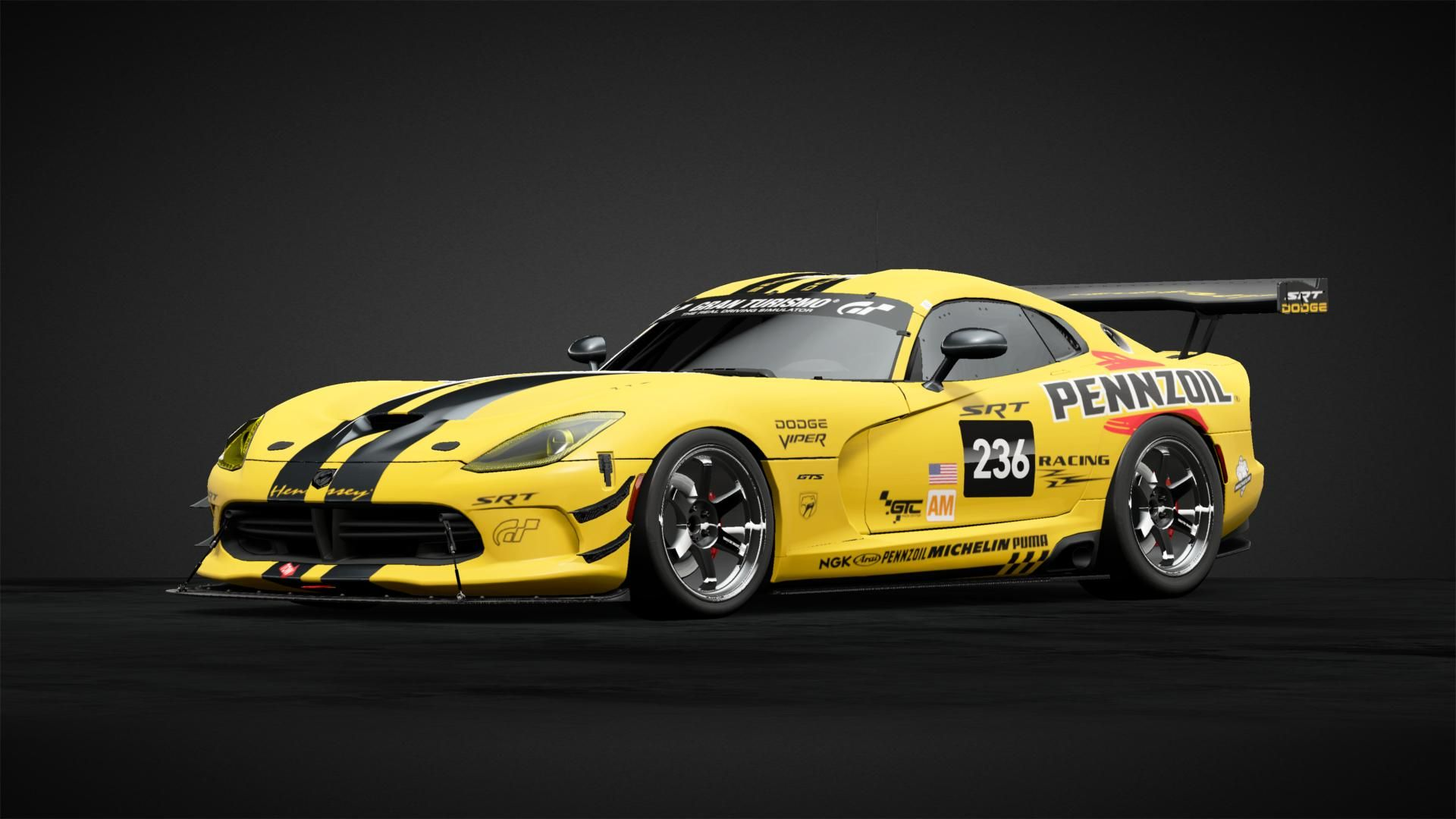 Hennesey Pennzoil Viper II Car Livery by gearmeister