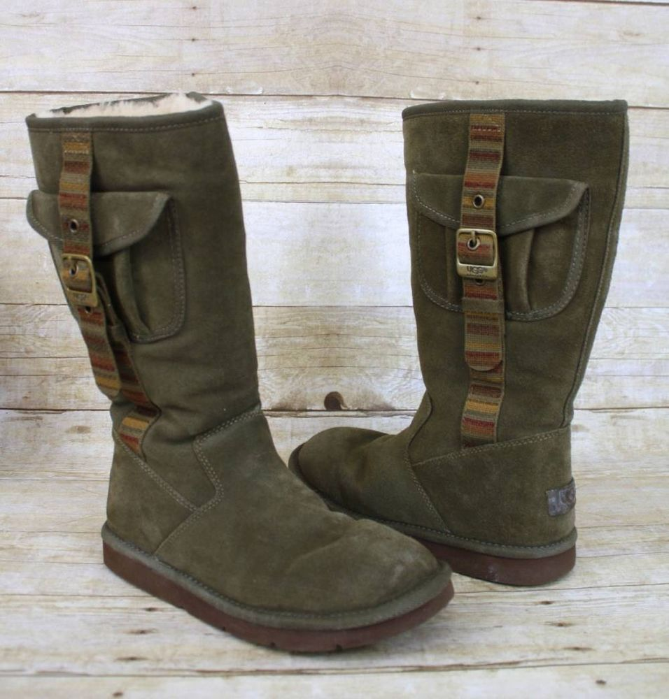 ugg retro cargo boots black womens