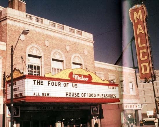 Malco Theatre On Main St It S Now Called The Orpheum Theatre