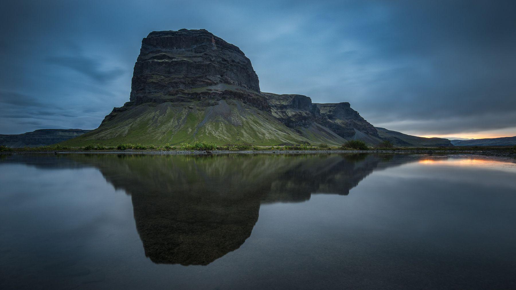 ISLAND Lómagnúpur Thomas Siegenthaler