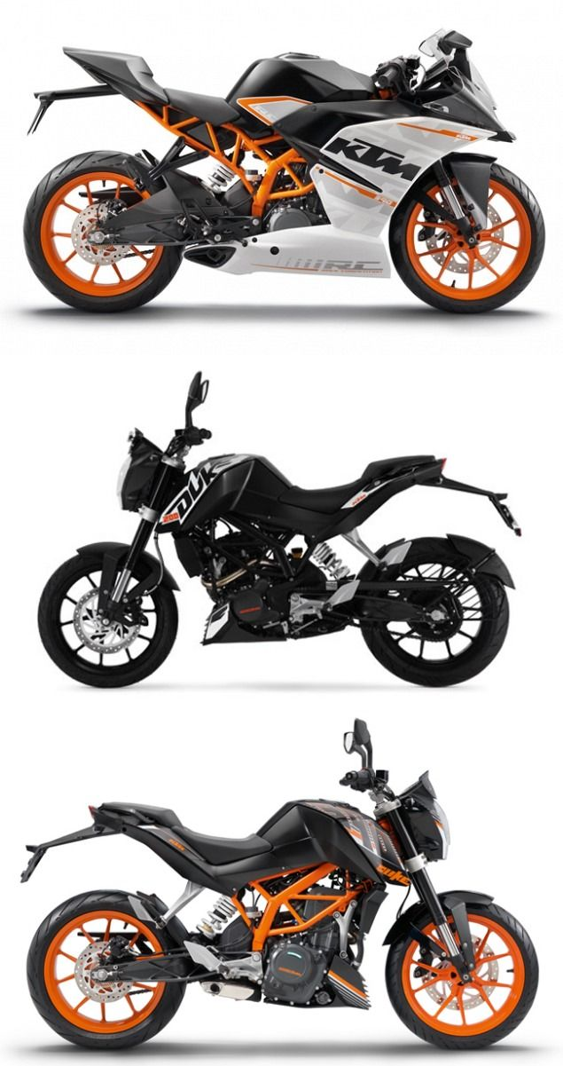 Ktm To Update Their Products With Cornering Abs Super Bikes