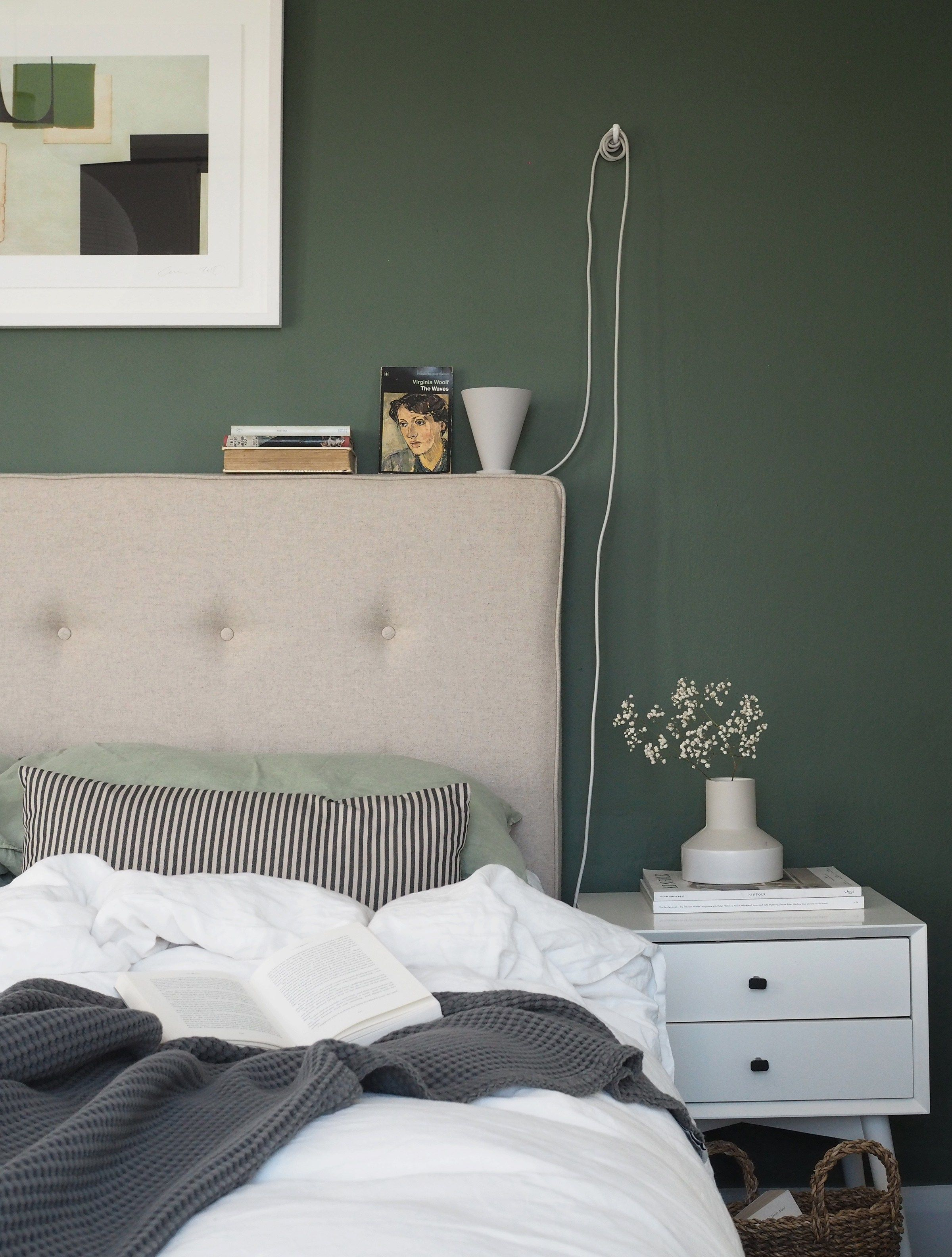 Sleep Soundly With A Sustainable Natural Bed From Button Sprung Ad Bed Frame Design Green Bedding Bedroom Green