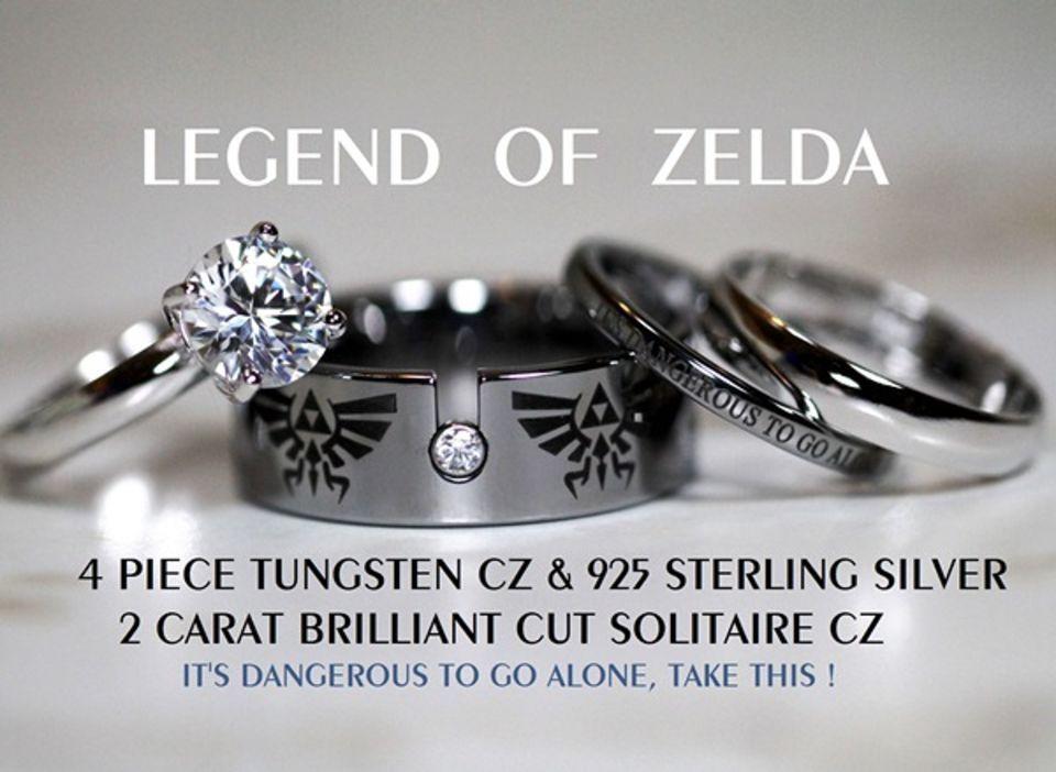 Top Five Most Badass Wedding Rings for Movie Geeks Cute nerd