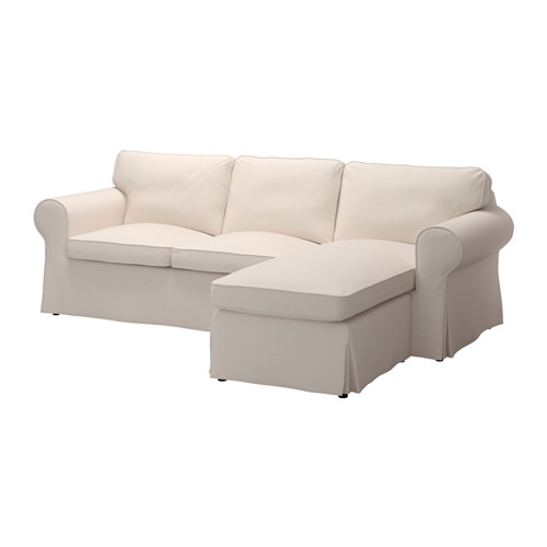 Ektorp Sofa Lofallet With Chaise Lofallet Beige Living