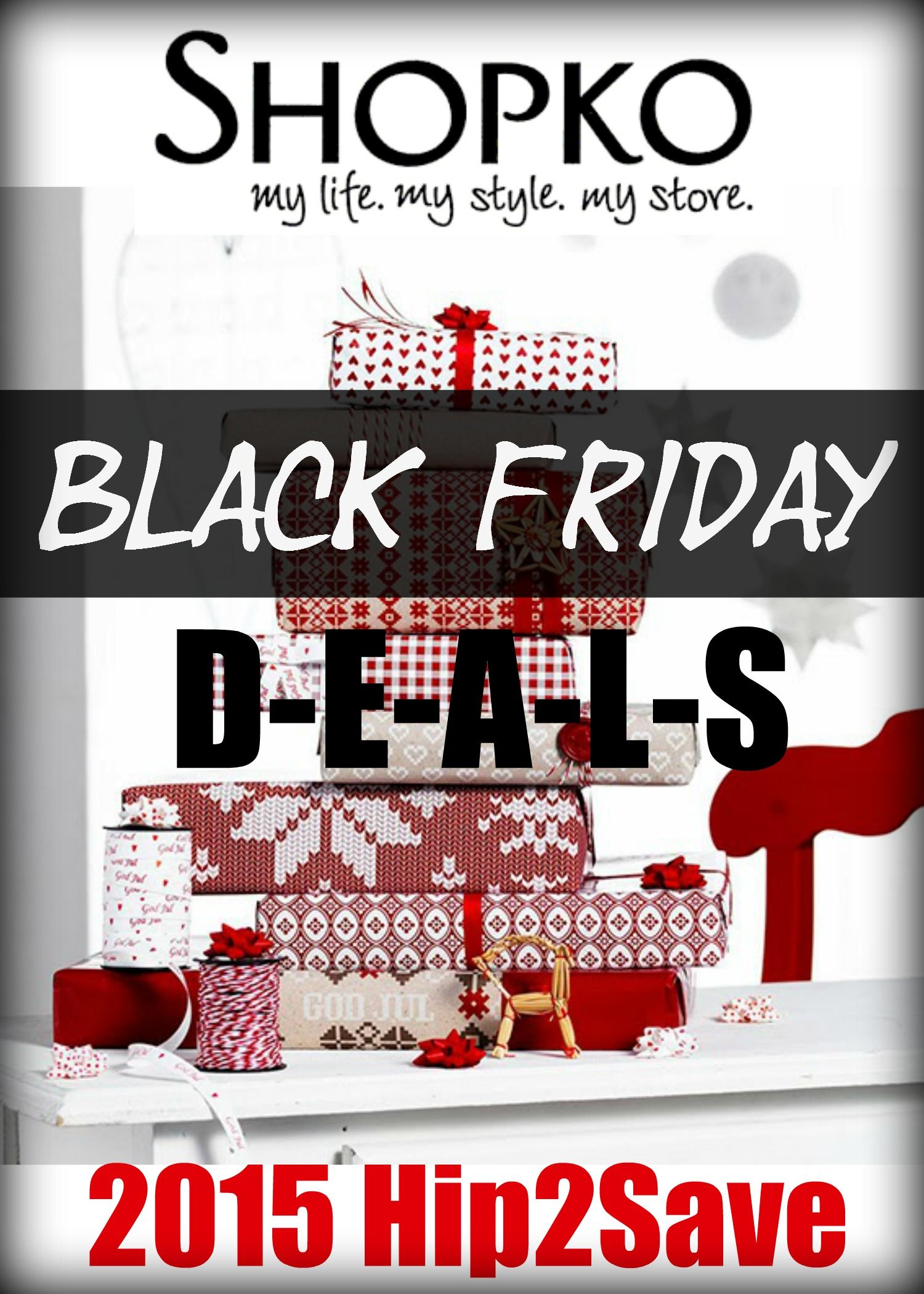 Shopko: 2015 Black Friday Deals are here! Find out when the deals start. There are definitely some amazing deals that will be hard to find anywhere else.