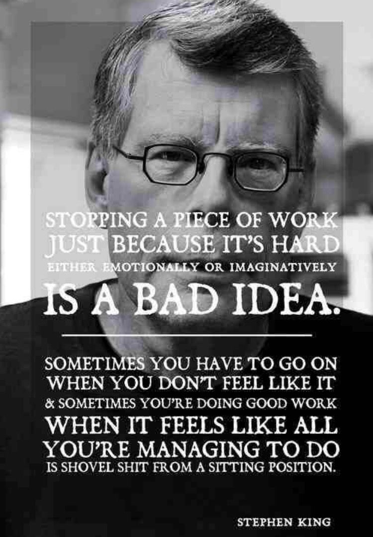 Pin By Matthew Ryan On Write Baby Write Writing Quotes Writing Motivation Stephen King Quotes