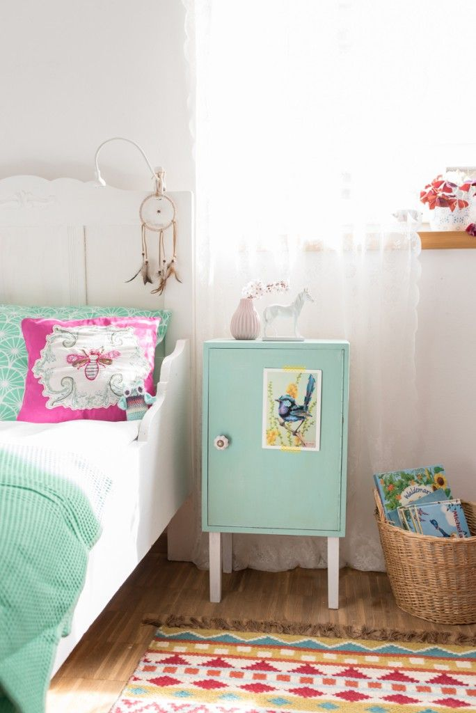 diy nachttisch schrank f rs kinderzimmer giveaway leelah loves wohnen diys pinterest. Black Bedroom Furniture Sets. Home Design Ideas