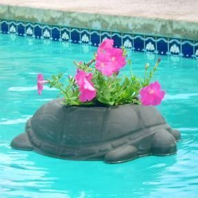 New Floating Turtle Flower Pot Planter Large 18 Dia