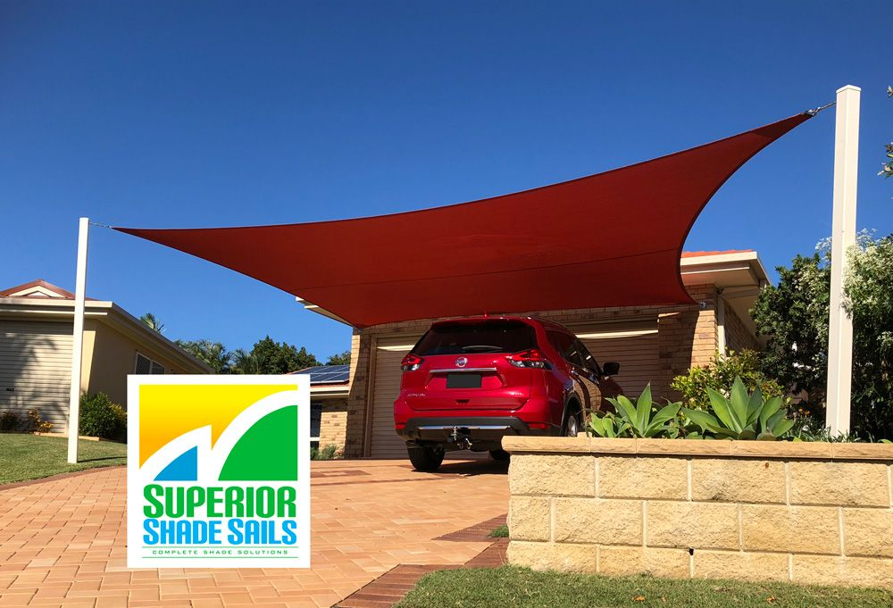 Another installation by Superior Shade Sails. 5 point