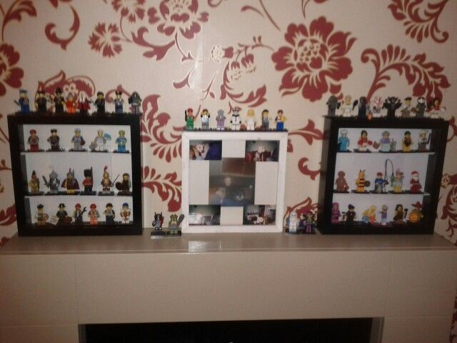 My home display cases for me minifigures