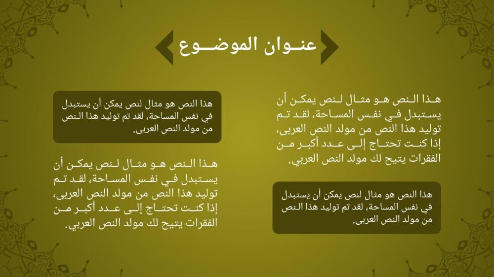قالب بوربوينت اسلامي باللغة العربية جاهز لعمل العروض التقديمية ادركها بوربوينت Classroom Decorations Classroom