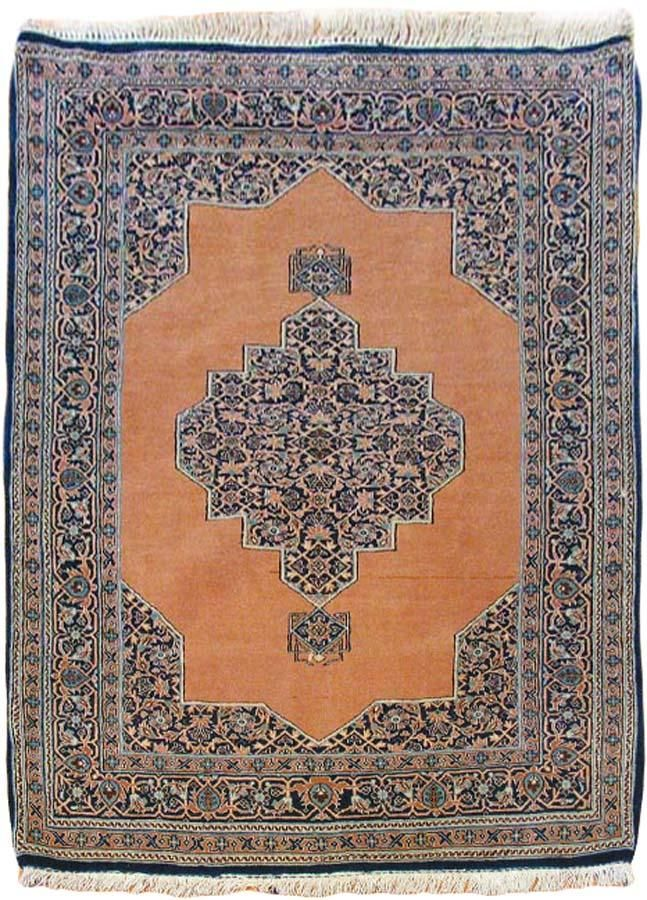Ghom Persian Rugs Number 12290, Semi-Antique Persian Rugs | Woven Accents