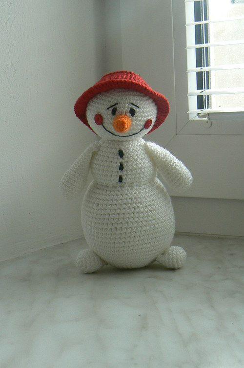 snowman | Amigurumi Puppen / Dolls | Pinterest | Weihnachtsengel ...