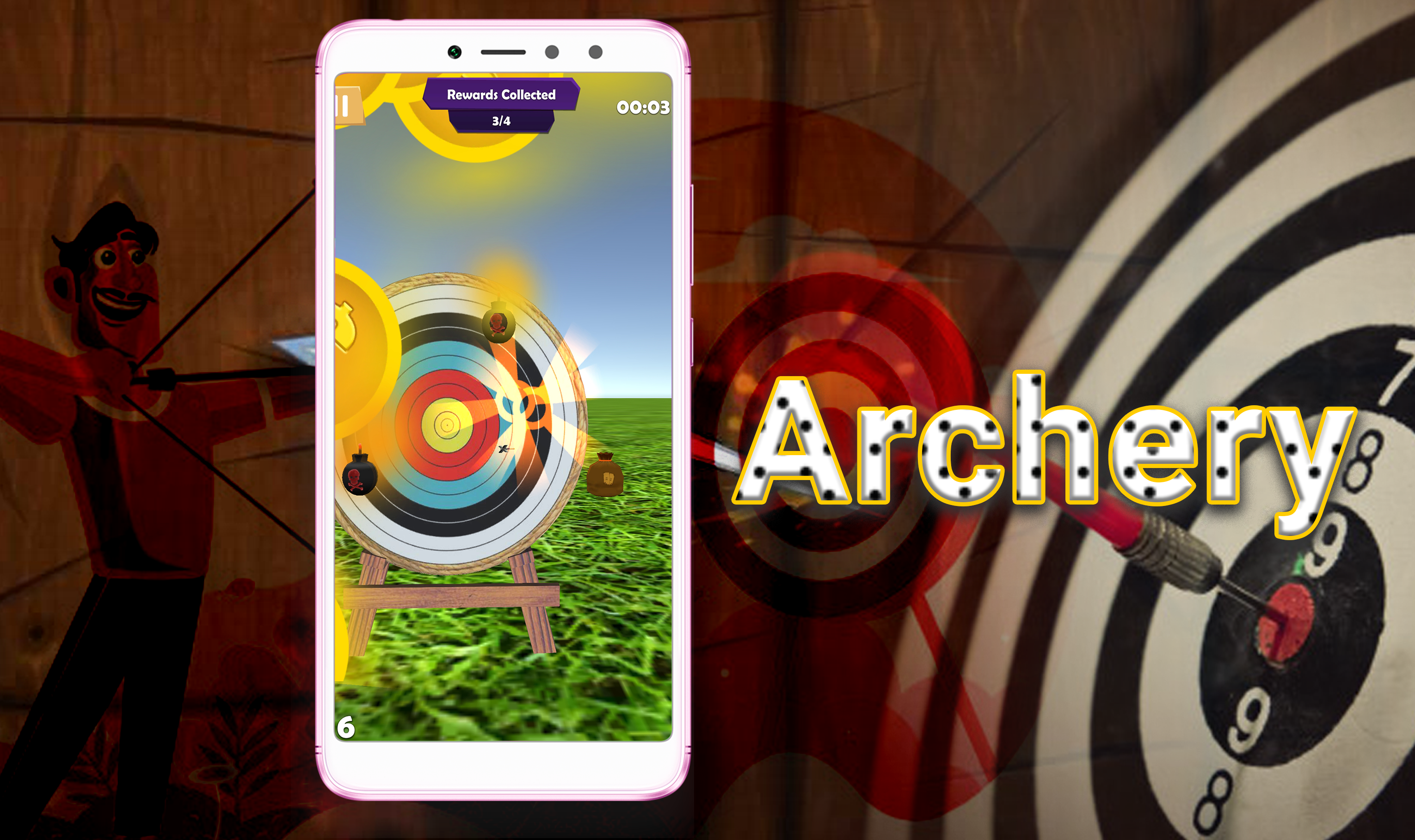 Free archery_game you can play with people from around