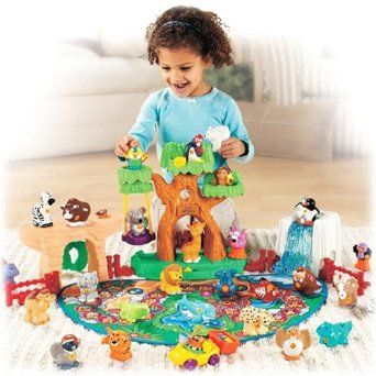 Amazon.com: Fisher Price Little People A to Z Learning Zoo Playset: Toys & Games
