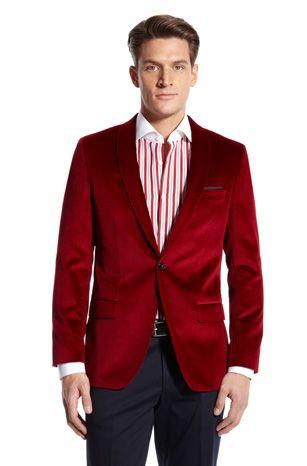 0976c67d8 HUGO BOSS Men's Sport Coats | Harry Velvet Sport Coat | Men's ...