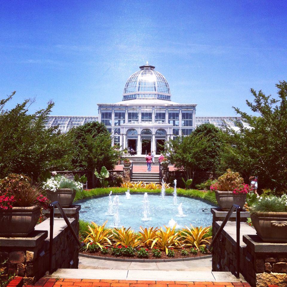 Lewis Ginter Botanical Gardens, Richmond, VA Lewis