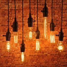 1/2/5/10pc Pendant Lamp Wire Vintage Industrial Edison Hanging ...