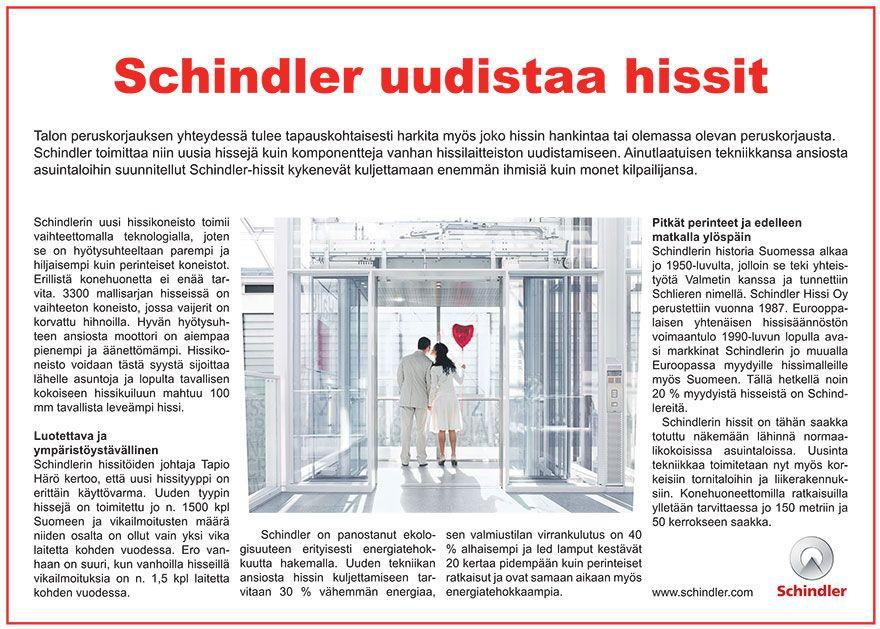 Ilmoitustuotantoa MediaPlanetin julkaisuun. www.ideaflow.fi