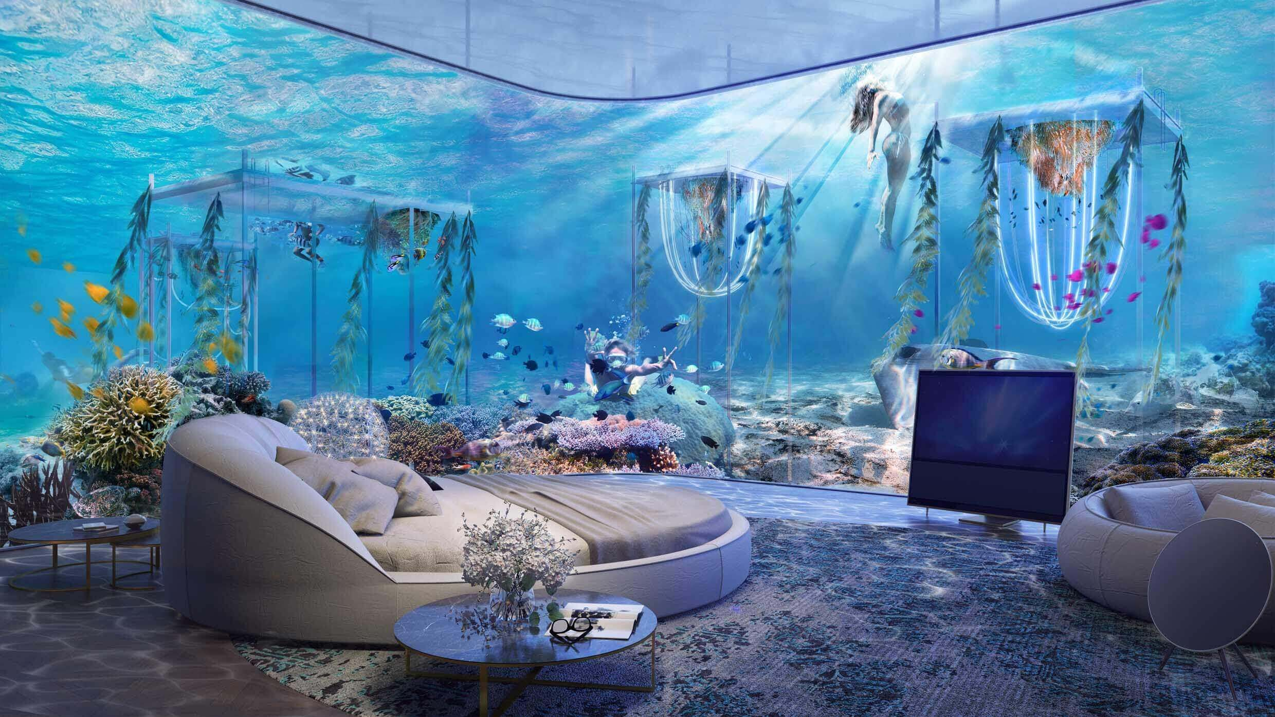 Floating Venice World S First Underwater Luxury Vessel Resort