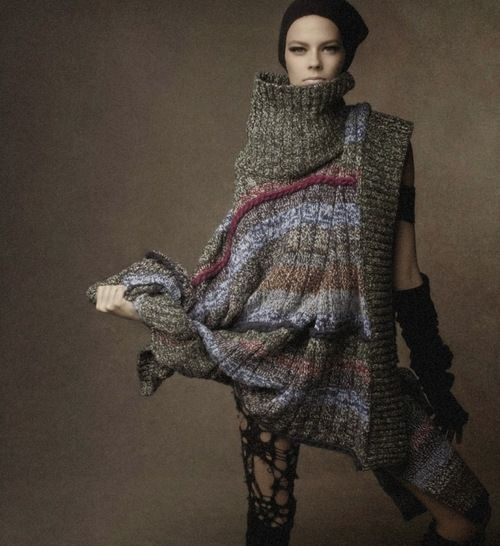 VOGUE Italia October 2014 Lexi Boling by Steven Meisel