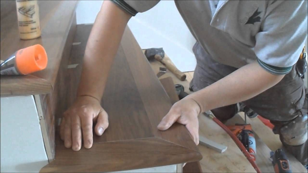 Prefinished Stair Treads, Risers And Nosings Make Your Hardwood Stairs  Beautiful Right Away. But Installing Prefinished Stair Treads You Should  Remember ...