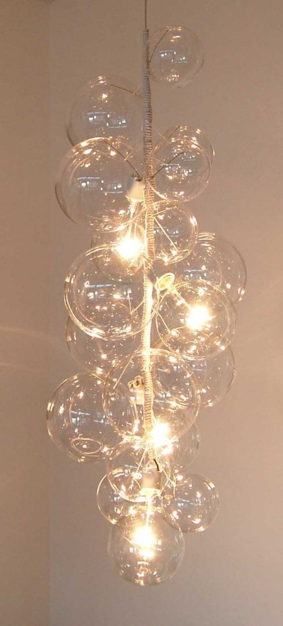 glass bubble chandelier lighting. Everybody Happy With Glass Bubble Chandelier : By Solaria. Lighting D