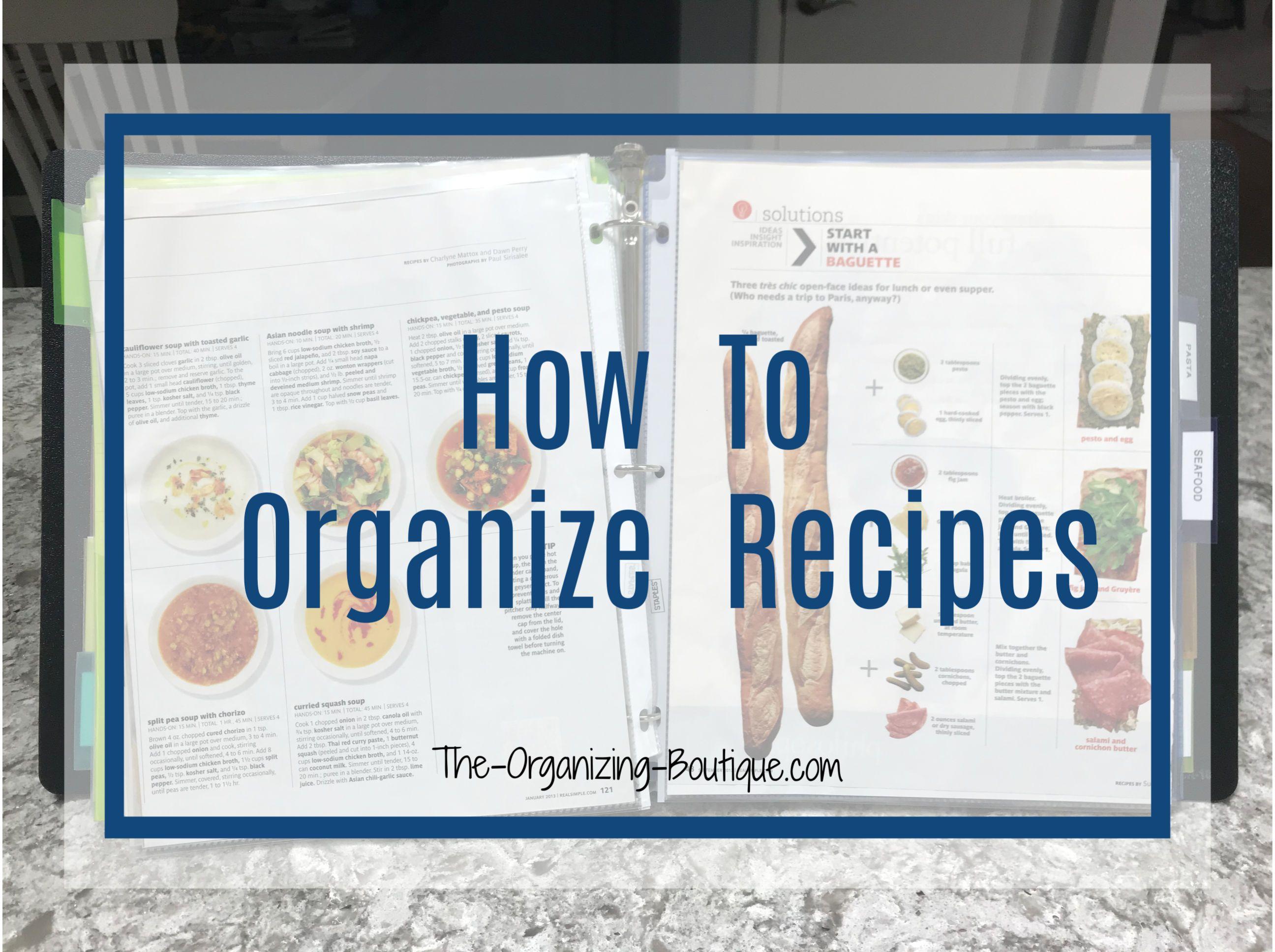 How To Make A Recipe Book Handmade Recipe Binder Ideas Recipe Organizer Diy Recipe Book Organization Diy Cookbook Recipe Cards