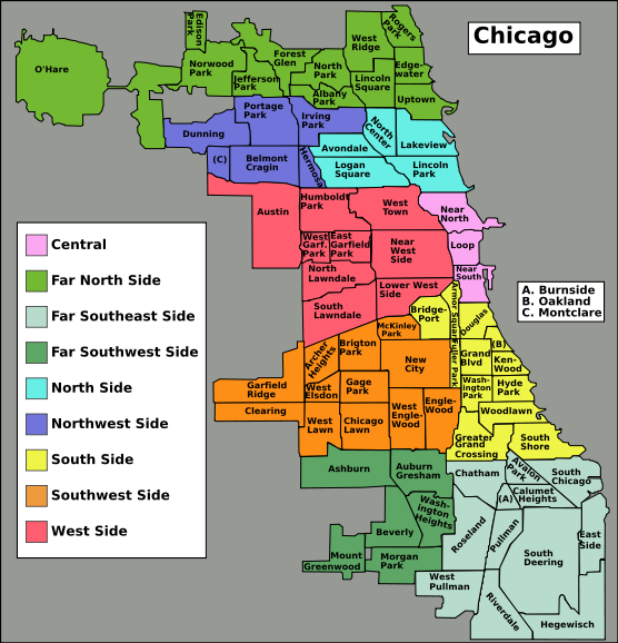 Neighborhoods | Illinois - Greater Chicago Area | Pinterest ...
