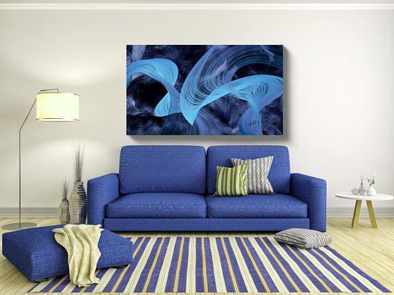 Abstract New Media Art Wall Decor Extra Large