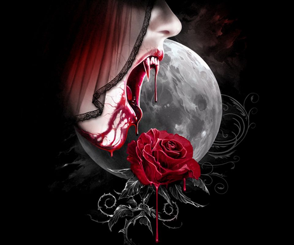 Dead Love Girl Wallpaper : WALLPAPERS - Gothic, skulls, death, fantasy, erotic and animals: Walls 960x800 NEW Gothic Art ...