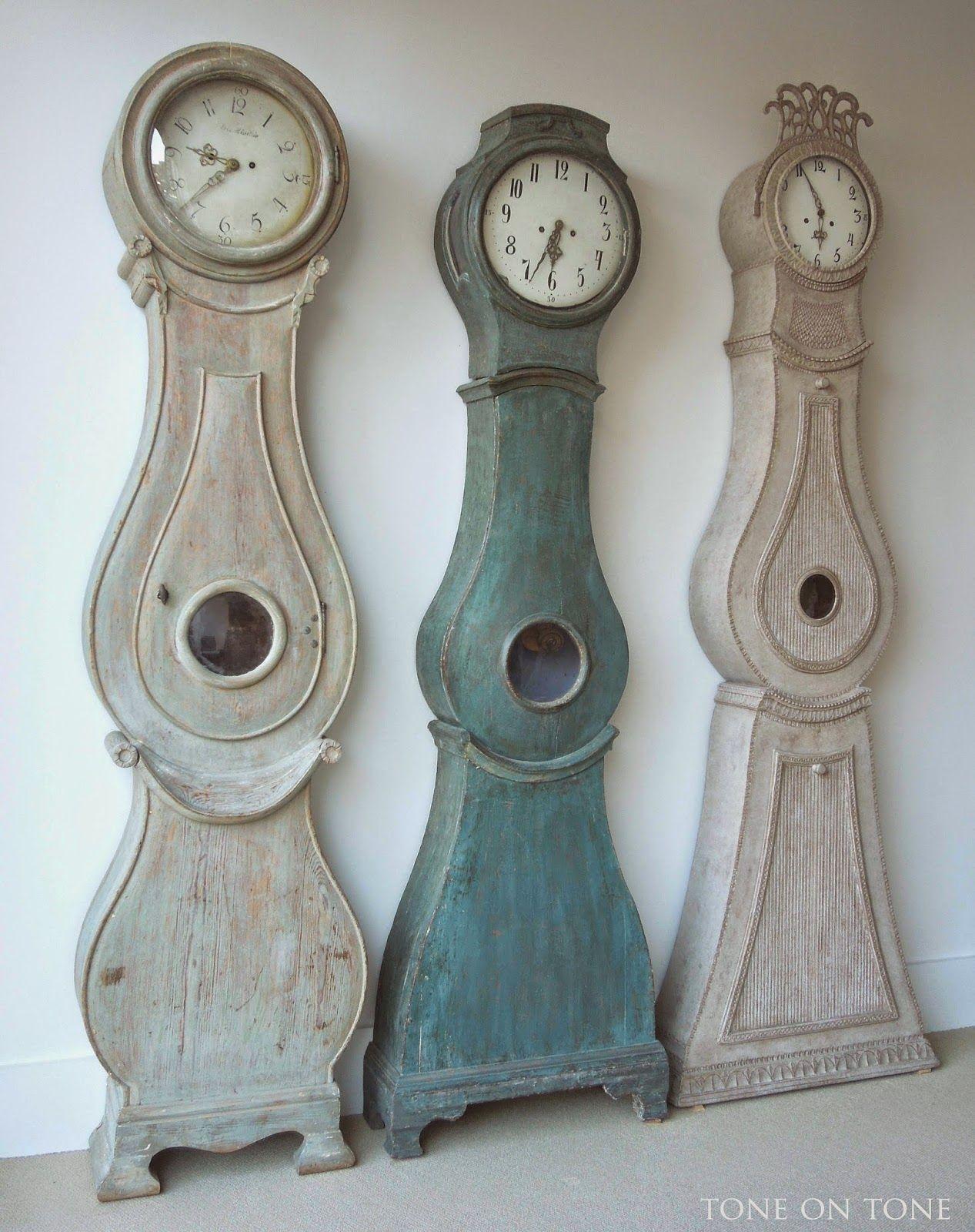 fresh idea whimsical clocks. Paint ideas Tone on  New Swedish Shipment crafts Pinterest Clocks