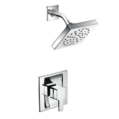 Moen 90 Degree Eco Performance 1 Handle Shower Faucet Trim Kit In