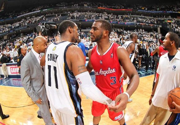 Chris Paul Leads The Clippers To A Game 7 Victory Hello Round 2 High Fives Www Junkfoodclothing Com Chris Paul Nba Teams Playoffs