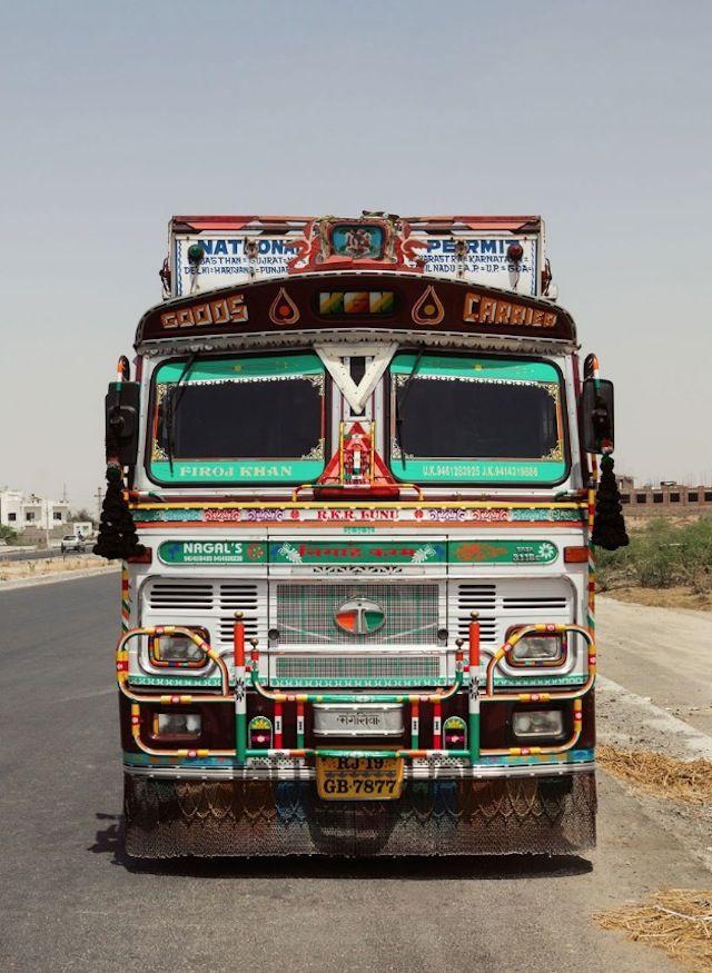 Indian Technicolor Trucks Photography India Truck Art Trucks