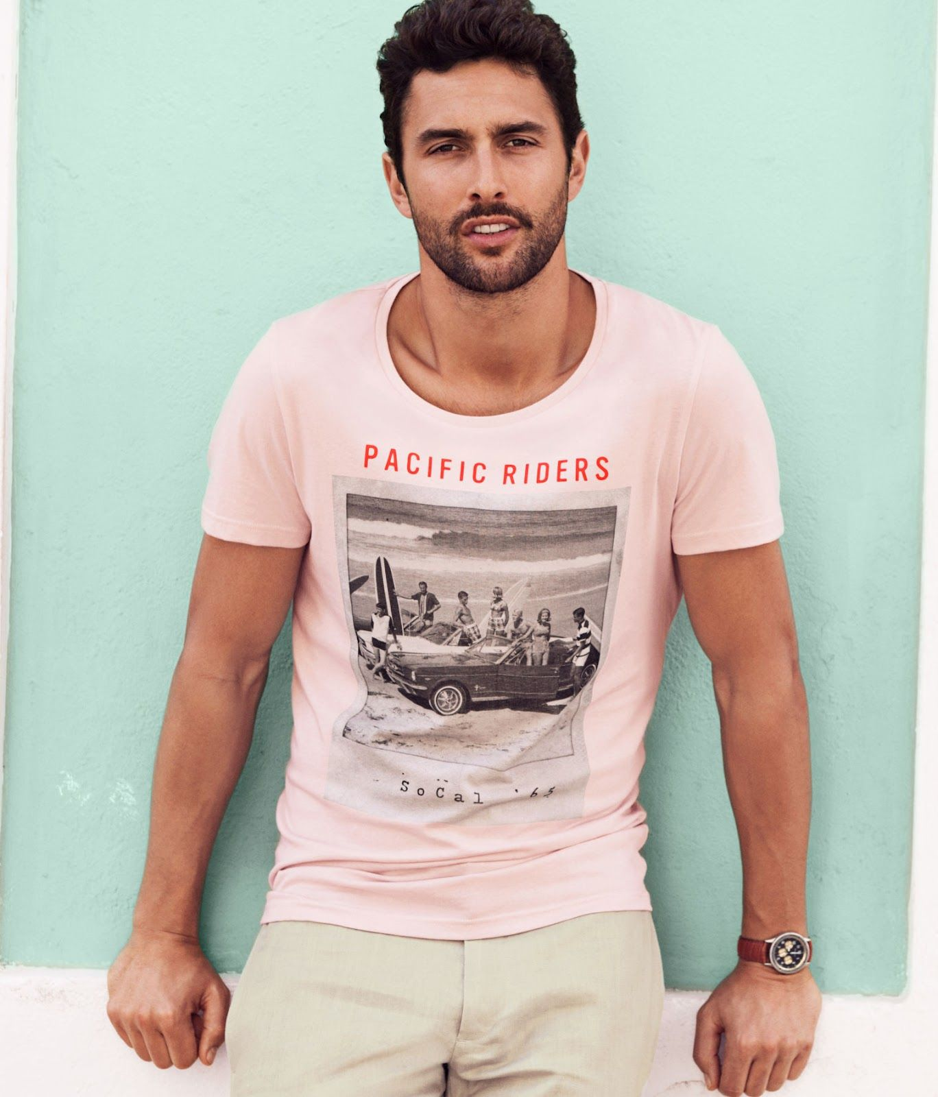 Noah Mills for H Shades of Summer campaign